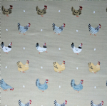 Sophie Allport Lay A Little Egg Chickens Fabric